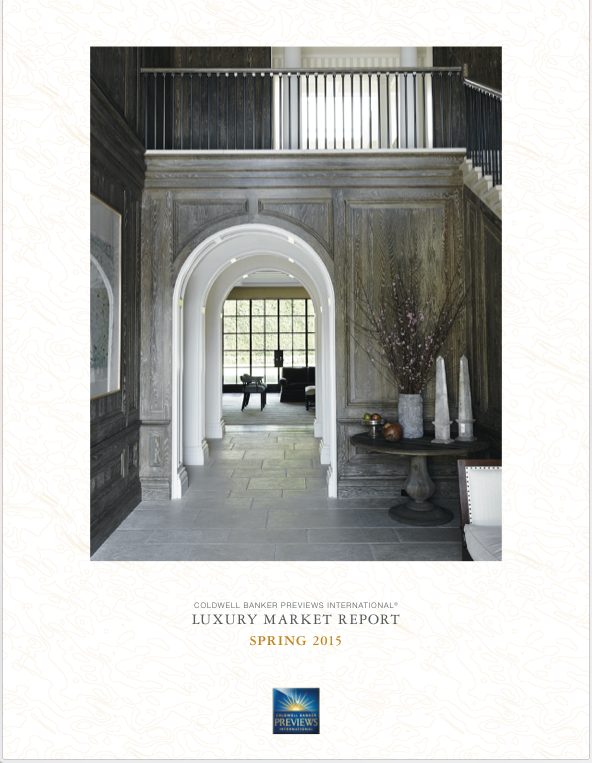 Luxury Market Report 2015 Cover